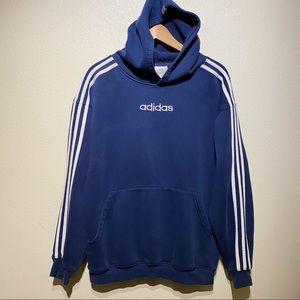 Vintage adidas Classic Embroidered Logo Hoodie
